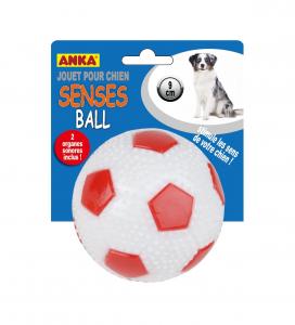 Balle de football sonore Senses Ball - Anka - 9 cm