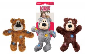 Jouet chien - Kong peluche ours - Pour grand chien - 26 cm