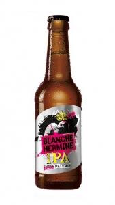 Bière Blanche Hermine IPA - Lancelot - 5,6° - 33 cl