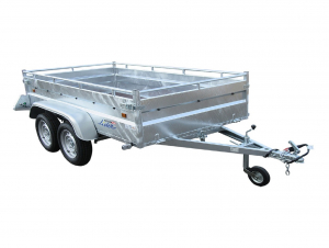 Remorque Robust 2m50 - 2 essieux - Lider