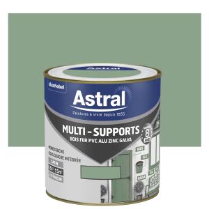 Peinture Multi supports - Astral - Extérieur - Satin - Vert Provence - 0.5 L