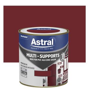 Peinture Multi supports - Astral - Extérieur - Satin - Rouge basque - 0.5 L
