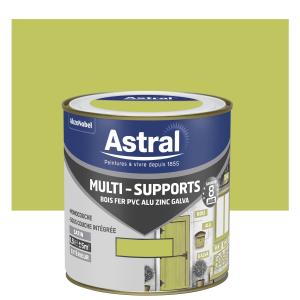 Peinture Multi supports - Astral - Extérieur - Satin - Vert anis - 0.5 L