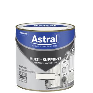 Peinture Multi supports - Astral - Extérieur - Satin - Blanc - 2 L