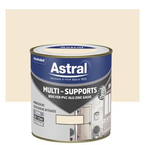 Peinture Multi supports - Astral - Extérieur - Satin - Blanc cassé - 0.5 L