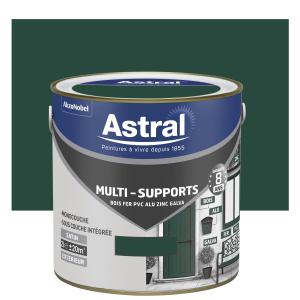 Peinture Multi supports - Astral - Extérieur - Satin - Vert Pays Basque - 2 L