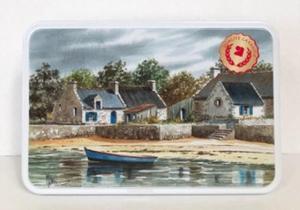Galettes bretonnes - boîte à sucre - Les galettes de Belle Isle - 300 gr
