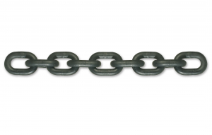 Chaîne de levage noire polie - Grade 80 - Ø 10 mm - Longueur 5 m