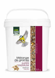 Mélange de graines Super Premium Insectes - Hami Form - 3.5 kg