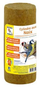Cylindre Prêt à l'emploi aux noix pour oiseaux - Natures Market - 850 gr