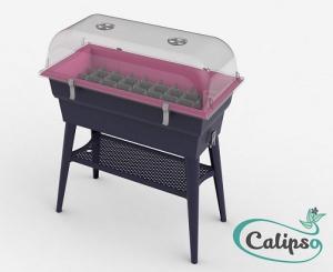 Jardinière Calipso COMBI 40L grisframboise