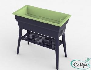 Jardinière Calipso MAXI 40L gristilleul