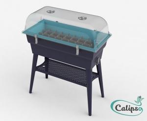 Jardinière Calipso COMBI 40L gristurquoise
