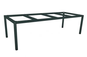 Armature de table à 4 pieds - Stern - 250 x 100 x 72 cm - Anthracite