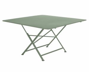 Table carrée pliante Cargo - Fermob - 128 x 128 cm - Cactus