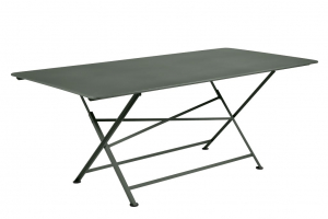 Table rectangle pliante Cargo - Fermob - 190 x 90 cm - Romarin