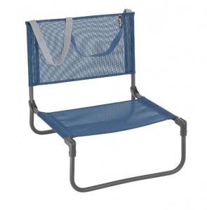 Chaise basse pliante CB Batyline Iso - Lafuma Mobilier - Bleu Océan