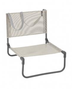 Chaise basse pliante CB Batyline Iso - Lafuma Mobilier - Seigle