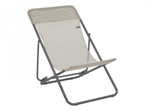 Chaise longue Maxi Transat Batyline Iso - Lafuma Mobilier - Seigle