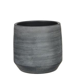 Pot rond Guido - Gris - Ø29cm
