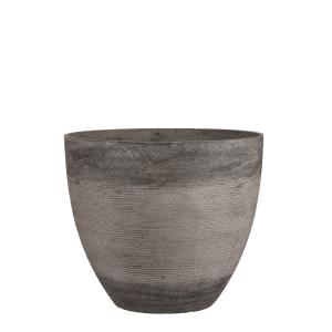 Pot rond Echo - Taupe - Ø45cm