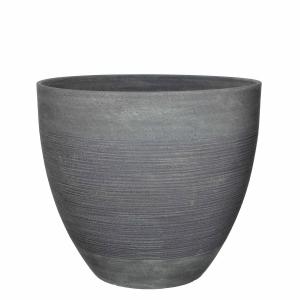 Pot rond Echo - Gris - Ø45cm