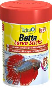 Tetra Betta Larva Sticks 85 ml - Aliment complet pour Betta Splendens