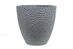 Pot Light en ciment Ohio - Gris - D51 cm