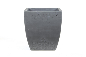 Pot Light en ciment - Gris - 45X49 cm