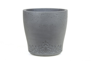 Pot Light en ciment - Gris - D46 cm
