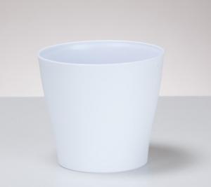 Cache-pote Pure White 328 - Deroma - blanc - 13 cm