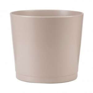 Cache-pot 883 - Deroma - Taupe - Ø 17 cm