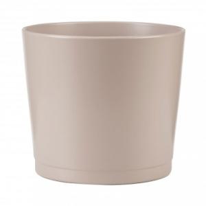Cache-pot 883 - Deroma - Taupe - Ø 22 cm