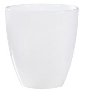 Vase orchidée 620 - Deroma - Glossy cream - H 15 cm