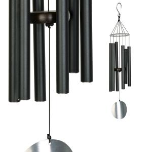 Carillon Auréole noir - 71 cm