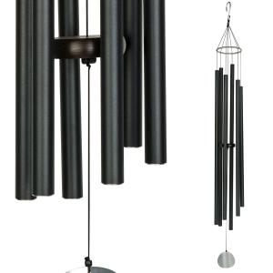 Carillon Auréole noir -142 cm