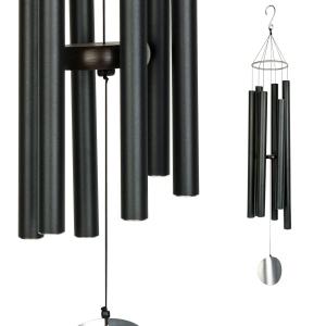 Carillon Auréole noir - 91 cm