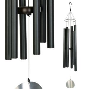 Carillon Auréole noir - 106 cm