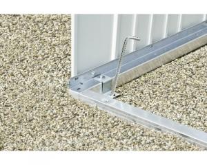 Cadre de sol pour abri Highline - BIOHORT - 252 x 212 x 4 cm