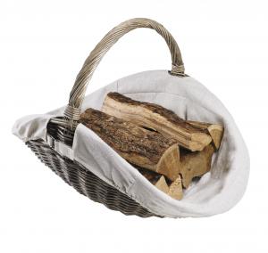 Panier à bois - Champêtre - En osier