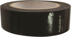 Ruban adhésif isolant - 10 m x 19 mm - Noir
