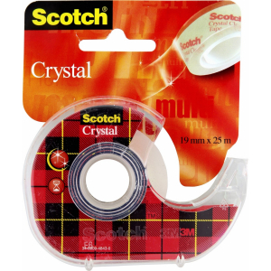 Scotch Crystal 6-1925D - 3M - 19 mm x 25 m
