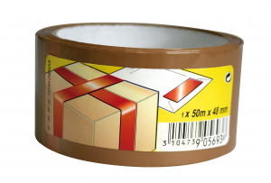 Ruban adhésif d'emballage - 3M - Marron - 50 m x 48 mm