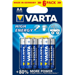 Piles High Energy LR06 - AA - Varta - x 6