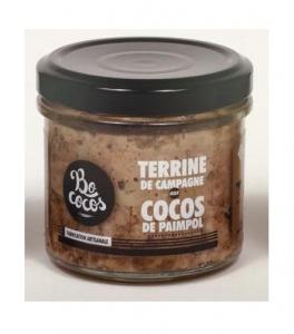 Terrine de campagne - Bococos - Aux Cocos de Paimpol - 100 g
