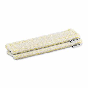 Bonnettes microfibres Velcro jaune - Karcher