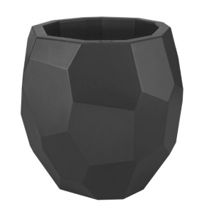 Pot Pure Edge - Elho - Ø 40 x 38 cm - Anthracite