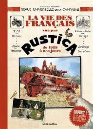 La vie des Français vue par Rustica - Livre jardin