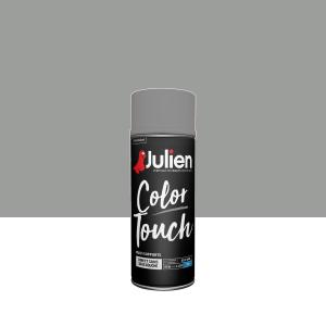 Aérosol Color Touch - Peintures Julien - Mat - Titanium - 0.4 L
