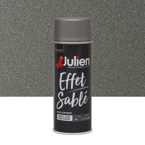 Aérosol peinture effet sablé multi-supports gris - Julien - 400 ml